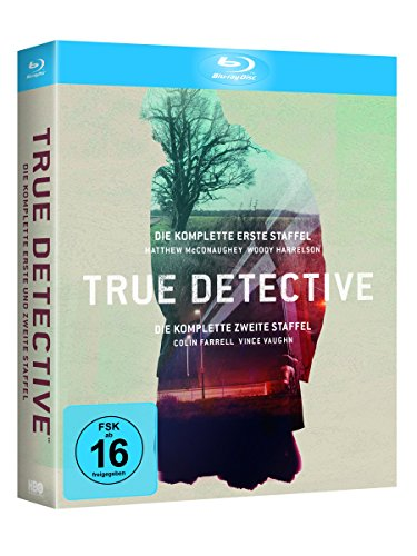 True Detective Staffel 1+2 (Limited Edition) [Blu-ray]