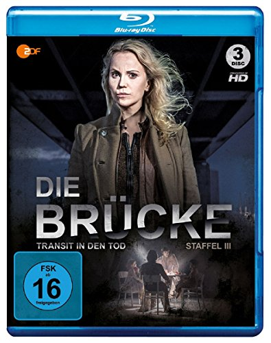 Die Brücke - Transit in den Tod: Staffel 3 [Blu-ray]