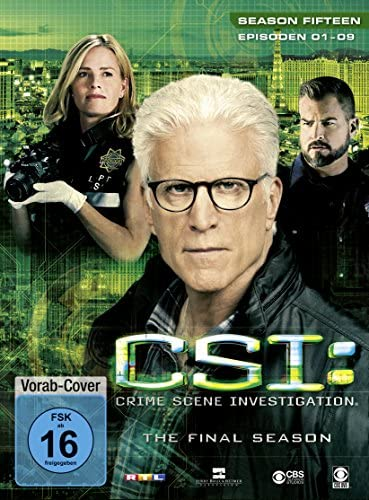 CSI Season 15 / Box-Set 1 (3 DVDs)