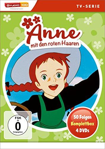 Anne mit den roten Haaren Komplettbox (4 DVDs)