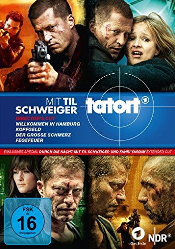 Tatort - Til Schweiger Boxset 1-4 + Durch die Nacht mit Til Schweiger und Fahri Yardim - Extended Cut (Dokumentation)