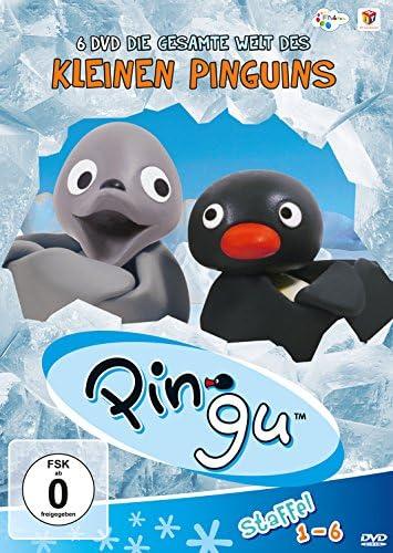 Pingu Die gesamte Welt des kleinen Pinguins: Staffel 1-6 (6 DVDs)
