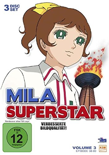 Mila Superstar Box 3 - Episoden 56-80 (3 DVDs)