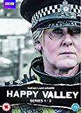 Happy Valley - Series 1+2 (4 DVDs)