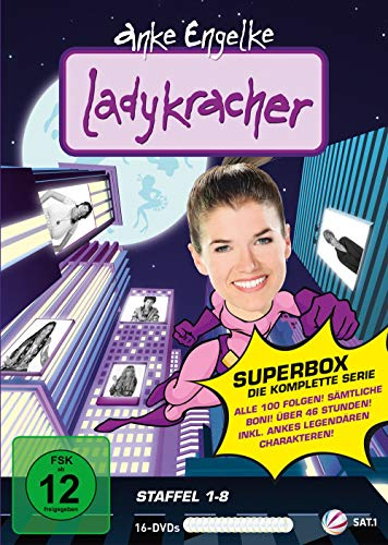 Ladykracher Vol. 1-8 - Superbox (16 DVDs)