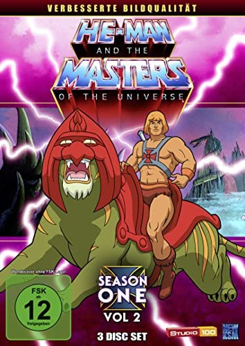 He-Man and the Masters of the Universe Season 1, Vol. 2 (3 DVDs)