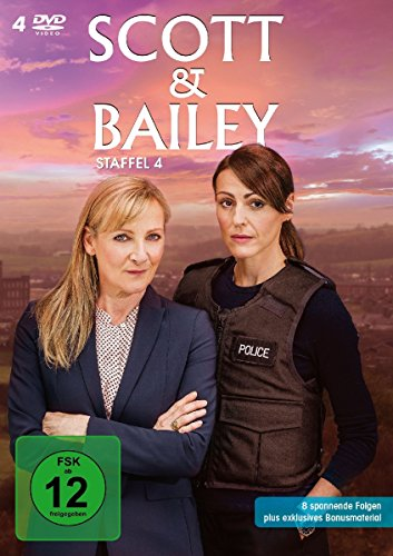 Scott & Bailey Staffel 4 (4 DVDs)