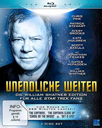 Unendliche Weiten - William Shatner's Star Trek Fan Edition (Limited Edition) [Blu-ray]