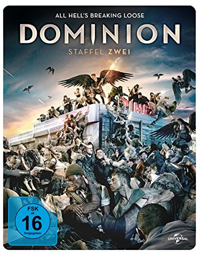 Dominion Staffel 2: All Hell's Breaking Loose [Blu-ray]
