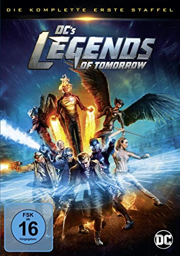 DC's Legends of Tomorrow Staffel 1 (4 DVDs)