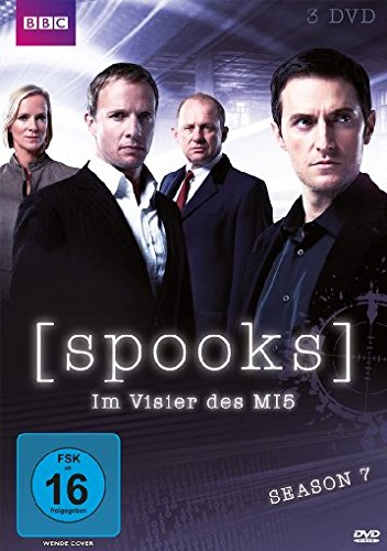 Spooks - Im Visier des MI5: Staffel 7 (3 DVDs)