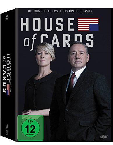 House of Cards Staffel 1-3 (Limited Edition) (12 DVDs)