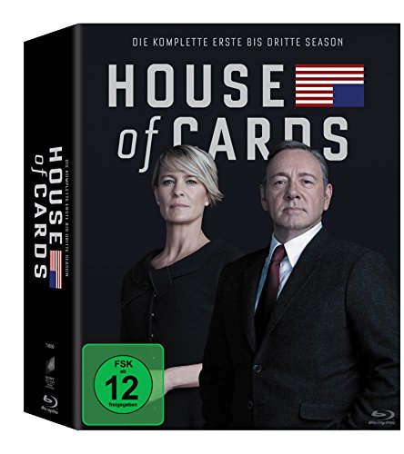 House of Cards Staffel 1-3 (Limited Edition) (exklusiv bei Amazon.de) [Blu-ray]