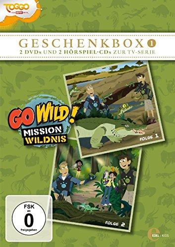 Go Wild! - Mission Wildnis: Geschenkbox 1 (2 CDs+2 DVDs)