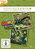 Go Wild! - Mission Wildnis: Geschenkbox 1 (2 CDs+2 DVDs)