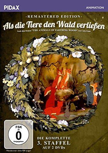 Als die Tiere den Wald verließen Staffel 3 (Remastered Edition) (2 DVDs)