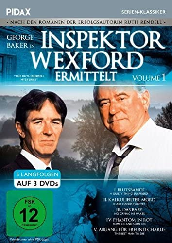 Inspektor Wexford ermittelt, Vol. 1 (The Ruth Rendell Mysteries) (3 DVDs)