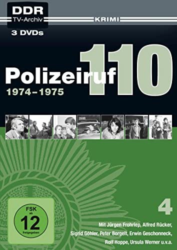 Polizeiruf 110 Box  4: 1974-1975 (DDR TV-Archiv) (Softbox) (3 DVDs)