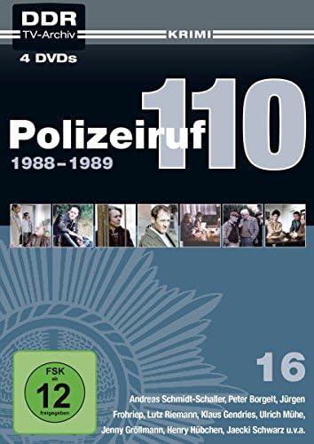 Polizeiruf 110 Box 16: 1988-1989 (DDR TV-Archiv) (4 DVDs)