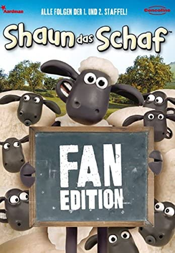 Shaun das Schaf Fan-Edition (4 DVDs)