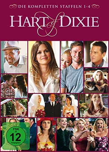 Hart of Dixie Staffel 1-4 (Limited Edition) (12 DVDs)