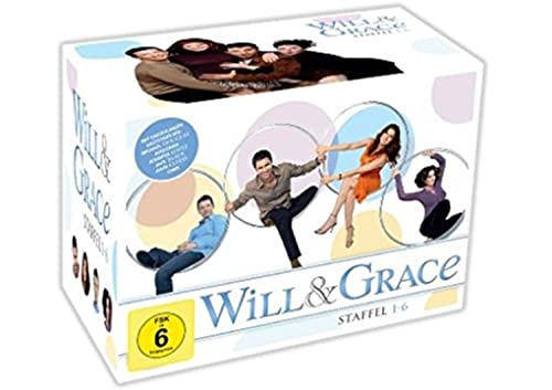 Will & Grace Staffeln 1-6 (24 DVDs)