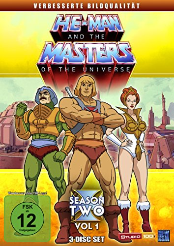 He-Man and the Masters of the Universe Season 2, Volume 1 (3 DVDs)