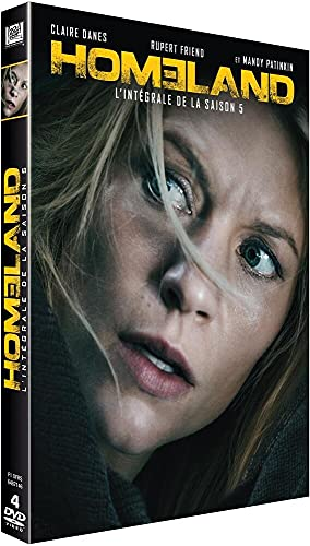 Homeland Season 5 (4 DVDs)