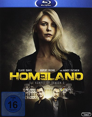 Homeland Season 5 [Blu-ray]