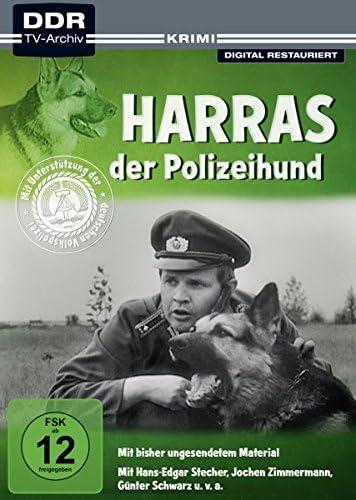 Harras, der Polizeihund