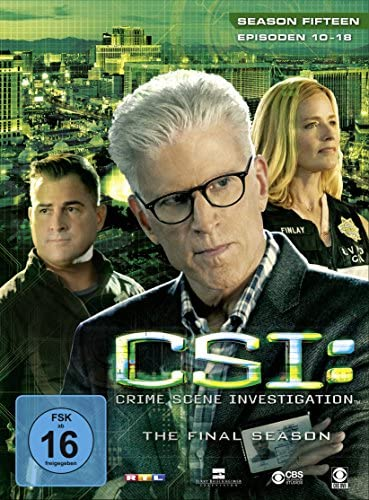 CSI Season 15 / Box-Set 2 (3 DVDs)