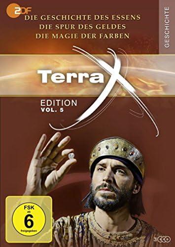 Terra X Edition Vol. 5: Die Geschichte des Essens / Die Spur des Geldes / Die Magie der Farben (3 DVDs)