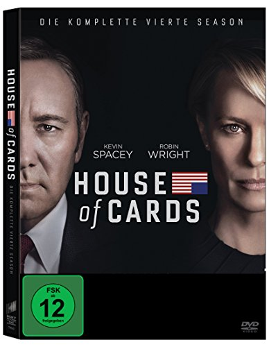 House of Cards Staffel 4 (4 DVDs)