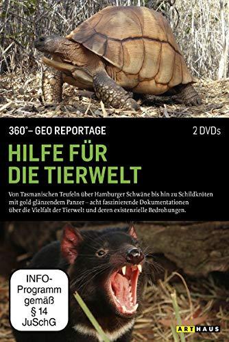 360° - Die GEO-Reportage: Hilfe für die Tierwelt (2 DVDs)