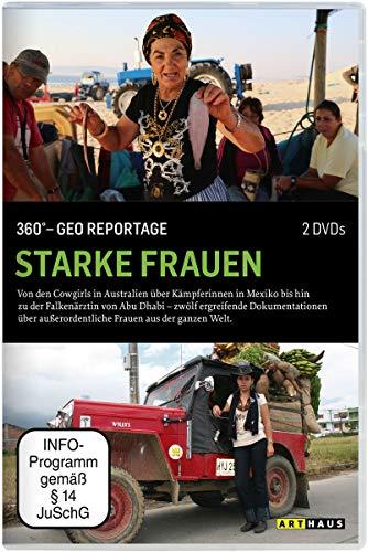 360° - Die GEO-Reportage: Starke Frauen (3 DVDs)