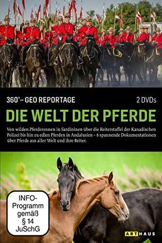 360° - Die GEO-Reportage: Die Welt der Pferde (2 DVDs)