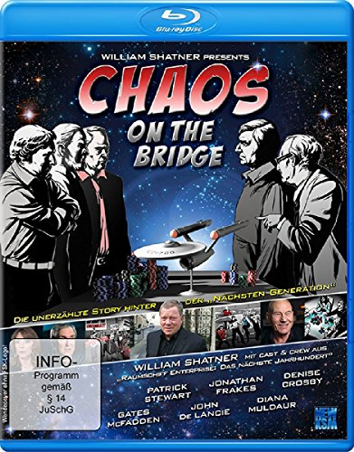 William Shatner's Chaos on the Bridge [Blu-ray]