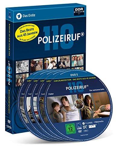 Polizeiruf 110 Das Beste aus 45 Jahren (Jubiläumsedition) (DDR TV-Archiv) (5 DVDs)