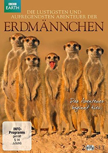 Die lustigsten und aufregendsten Abenteuer der Erdmännchen (2 DVDs)