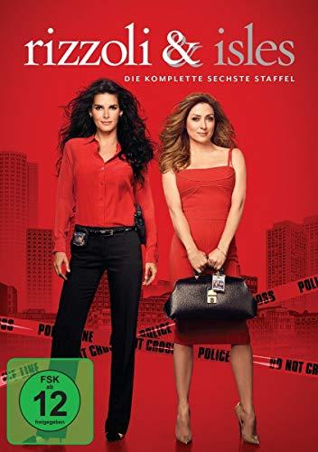 Rizzoli & Isles Staffel 6 (4 DVDs)