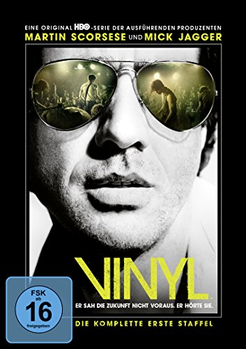 Vinyl Staffel 1 (4 DVDs)