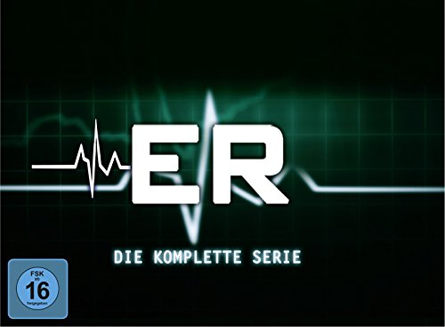 E.R. - Emergency Room Die kompletten Staffeln 1-15 (Limited Edition) (93 DVDs)