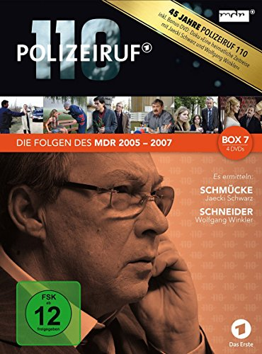 Polizeiruf 110 MDR-Box  7 (4 DVDs)