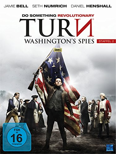 Turn - Washington's Spies: Staffel 2 (4 DVDs)