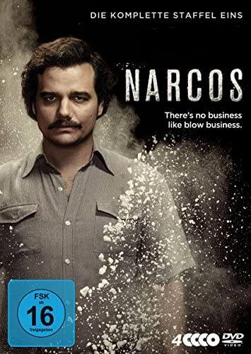 Narcos Staffel 1 (4 DVDs)
