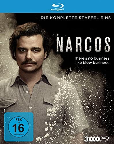 Narcos Staffel 1 [Blu-ray]
