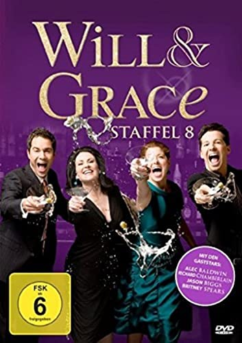 Will & Grace Staffel 8 (4 DVDs)