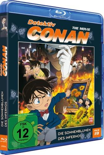 Detektiv Conan 19. Film: Die Sonnenblumen des Infernos [Blu-ray]