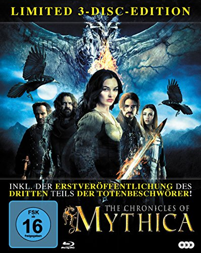 The Chronicles of Mythica (Limited 3-Disc-Edition) [Blu-ray] (Limited Edition)