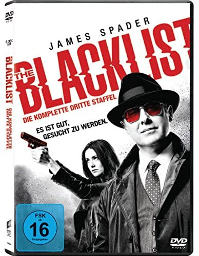 The Blacklist Staffel 3 (6 DVDs)